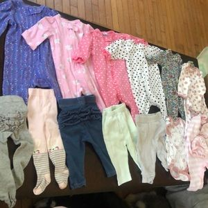 0-3 Month Baby Girl Bundle